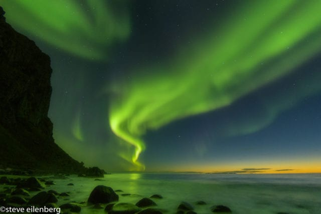 Lofoten Norway Northern Lights