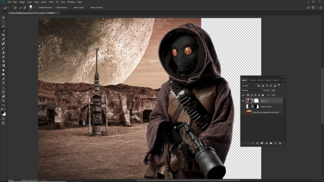 Photoshop's New Subject Select Tool...WOW!