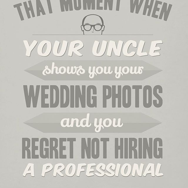 Sunday Comics Was having you uncle shoot your wedding really a good idea?