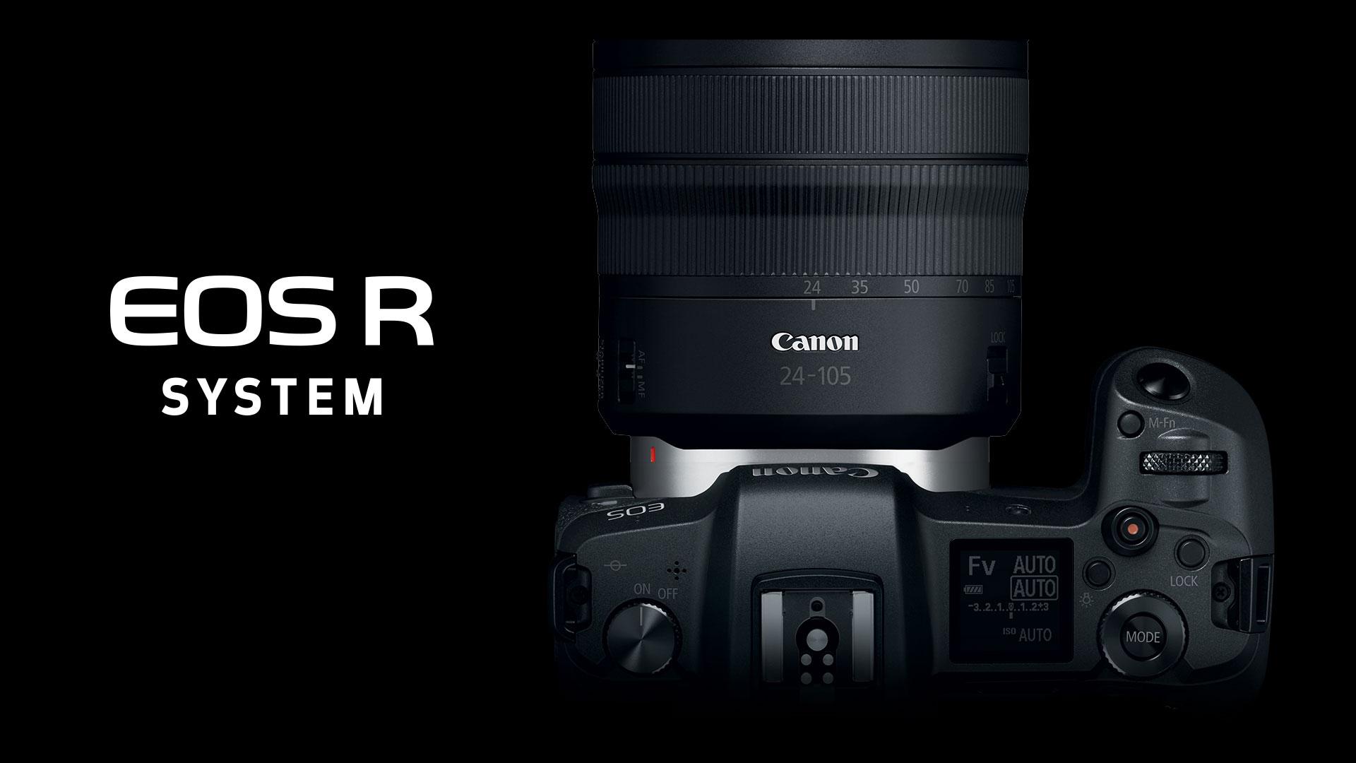 Canon announces full-frame mirrorless EOS R camera