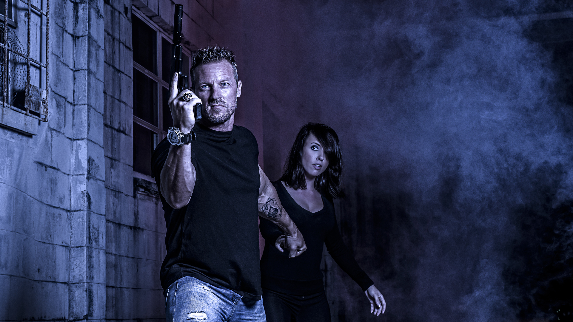 featured- How to create an action portrait in an alley
