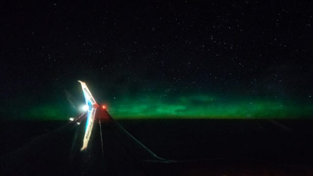 How I shot the Northern Lights from a plane