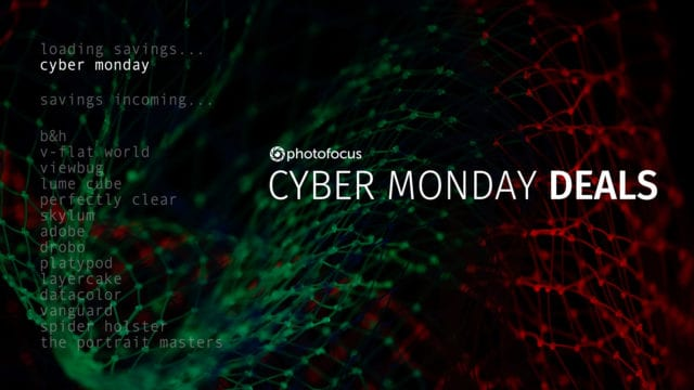 Great Cyber Monday deals for photographers