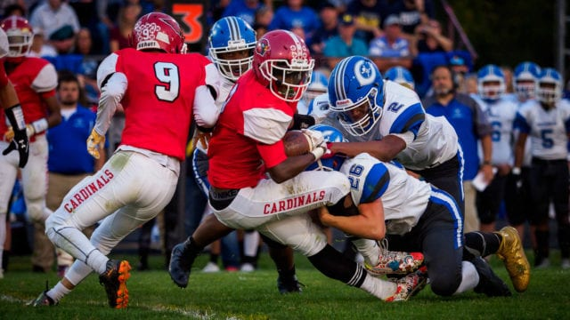 Photographing high school football with the Olympus OM-D E-M1 Mark II, part one
