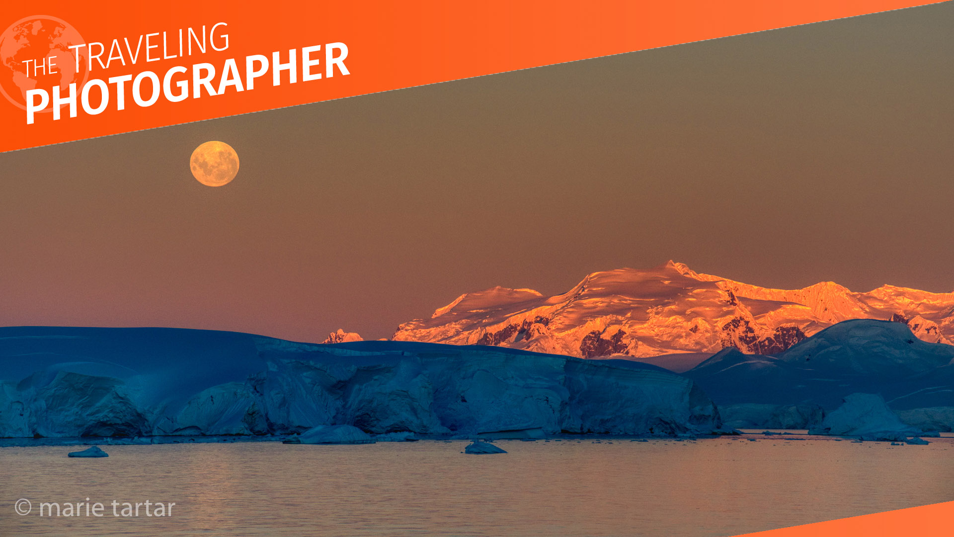 A land of icy landscapes and otherworldly light: Antarctica.