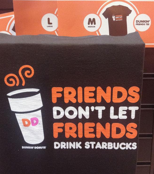 Sunday Comics Coffee Wars Friends don't let friends drink Starbucks