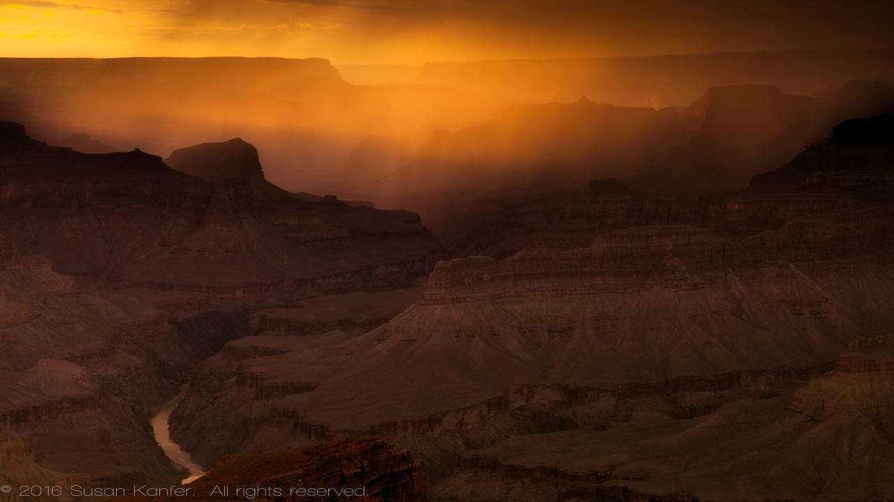 Grand Canyon at Sunset, Arizona