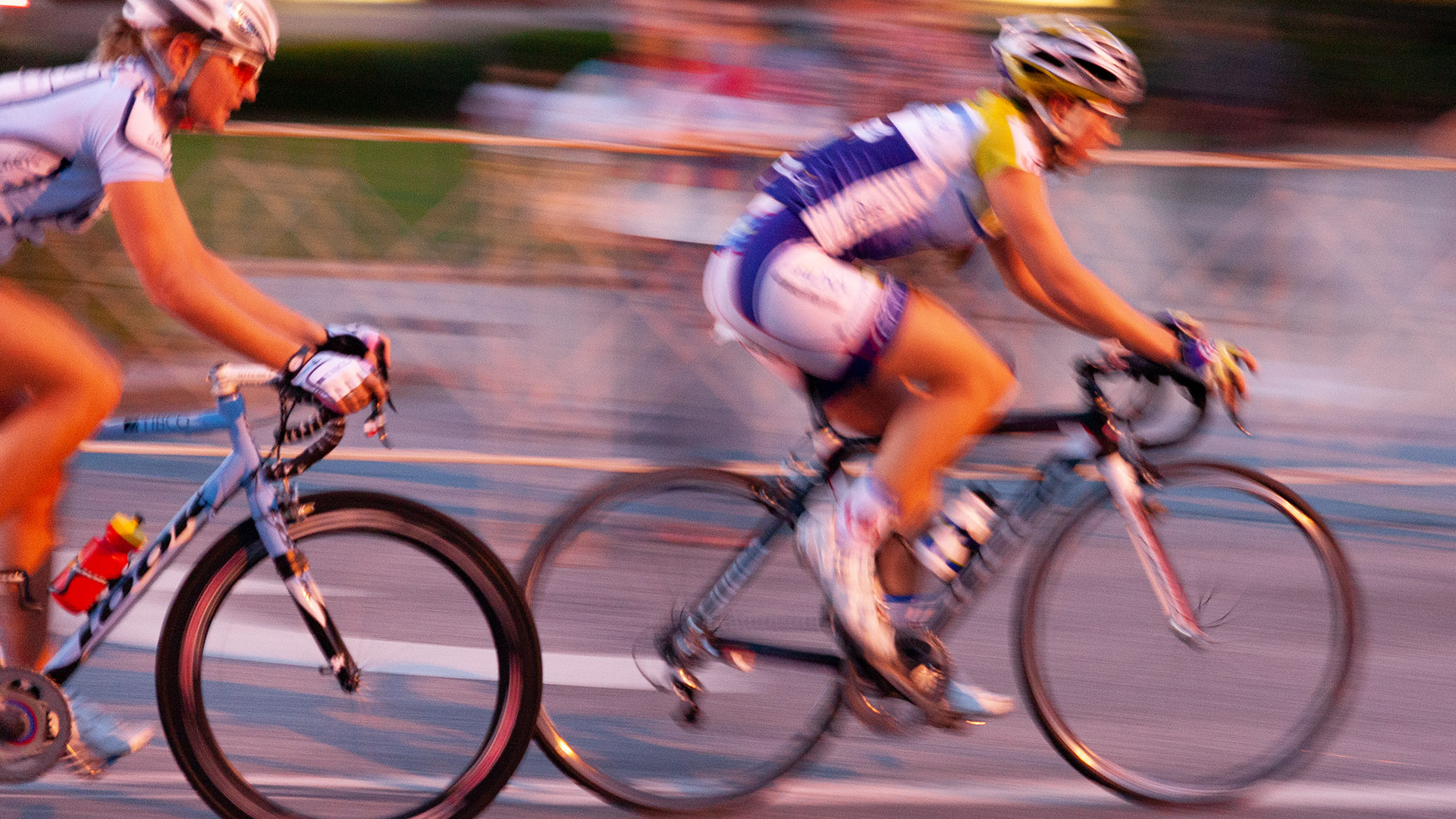 Bicycle racers!