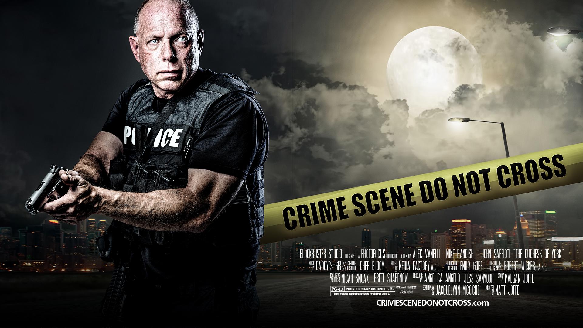 Crime Scene do not cross movie poster