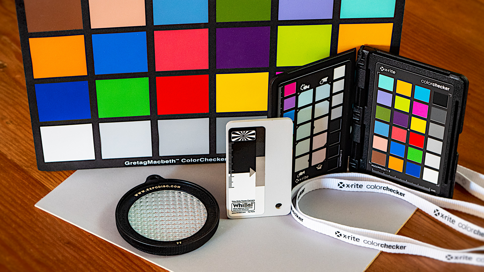 Color and white balance tools