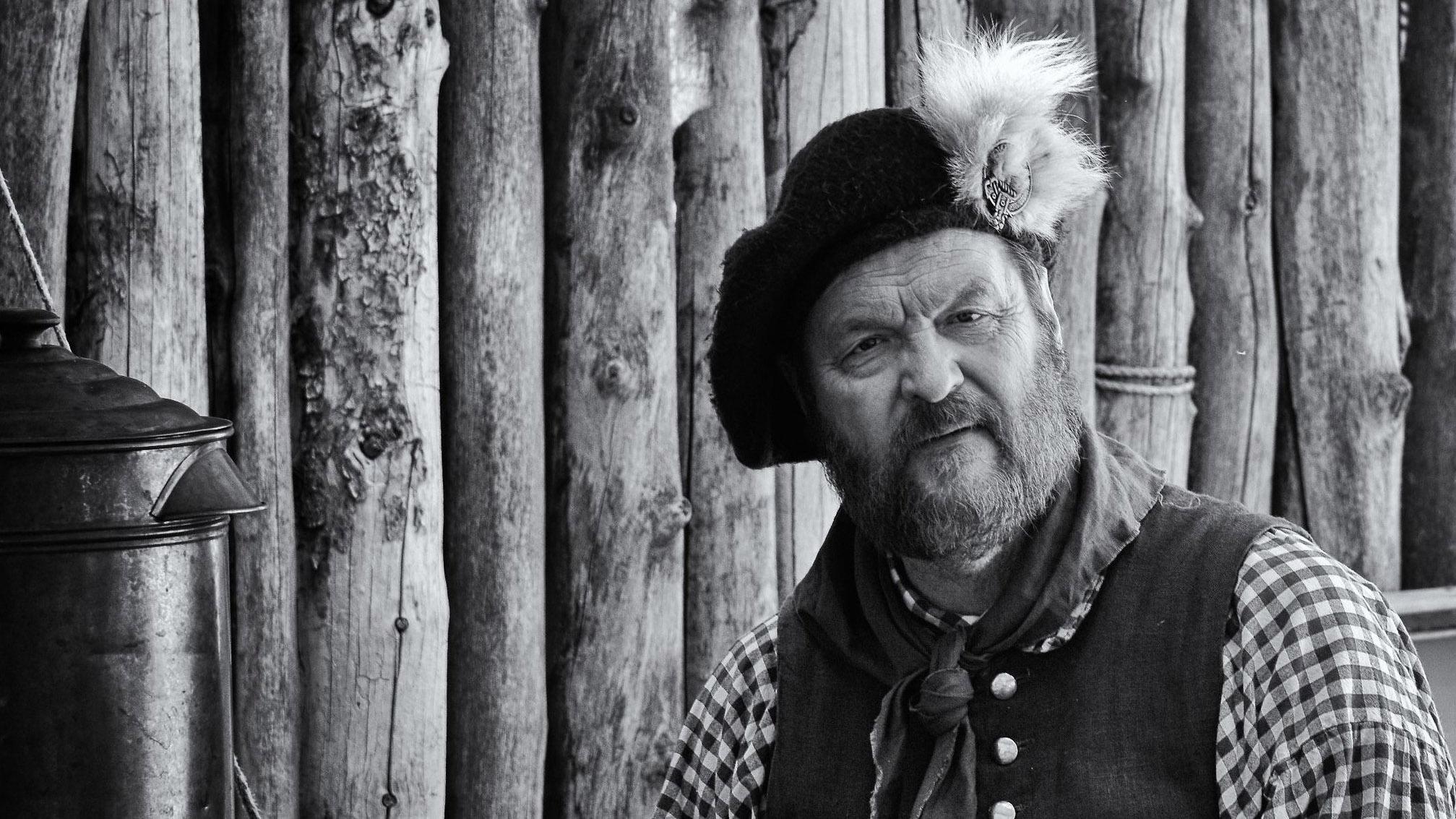 "Photofocus Photographer of the Day Mark Coleman's portrait ""Mountain Man""."