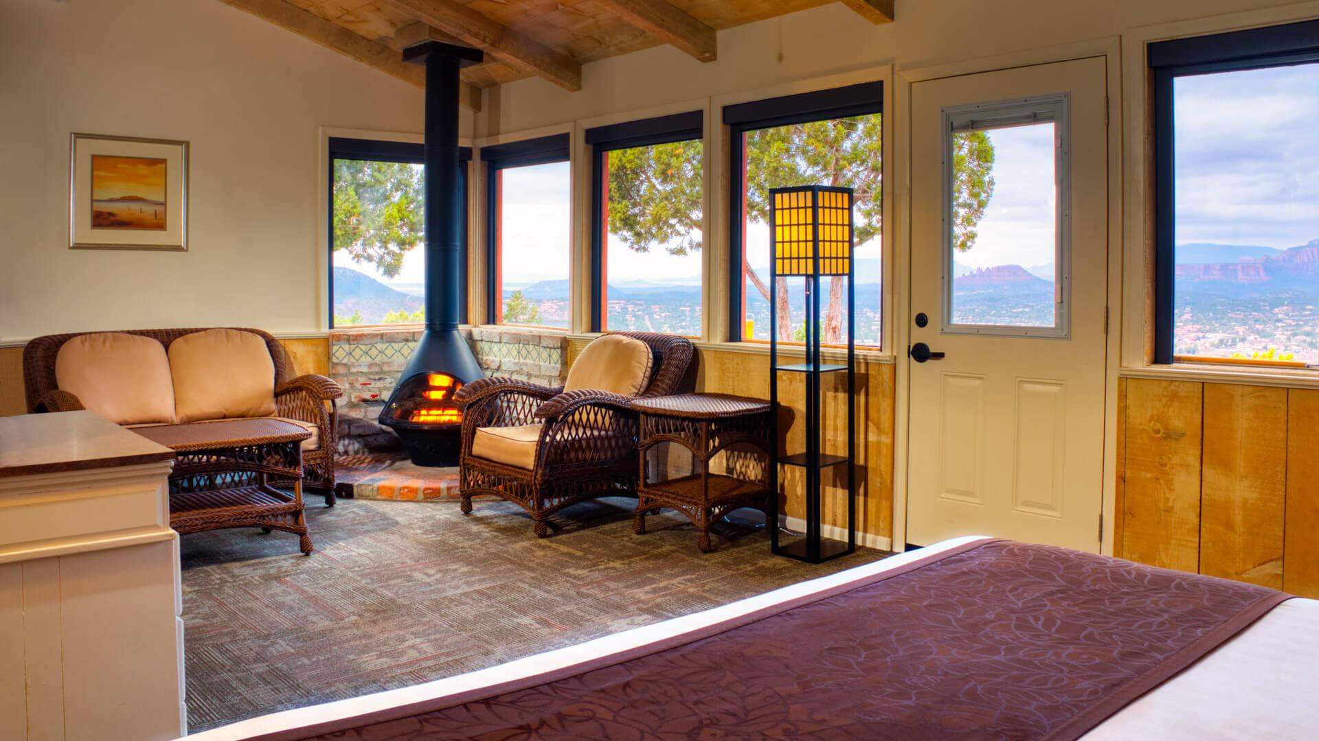 Resort commercial image from Sky Ranch Lodge shoot Sedona, AZ