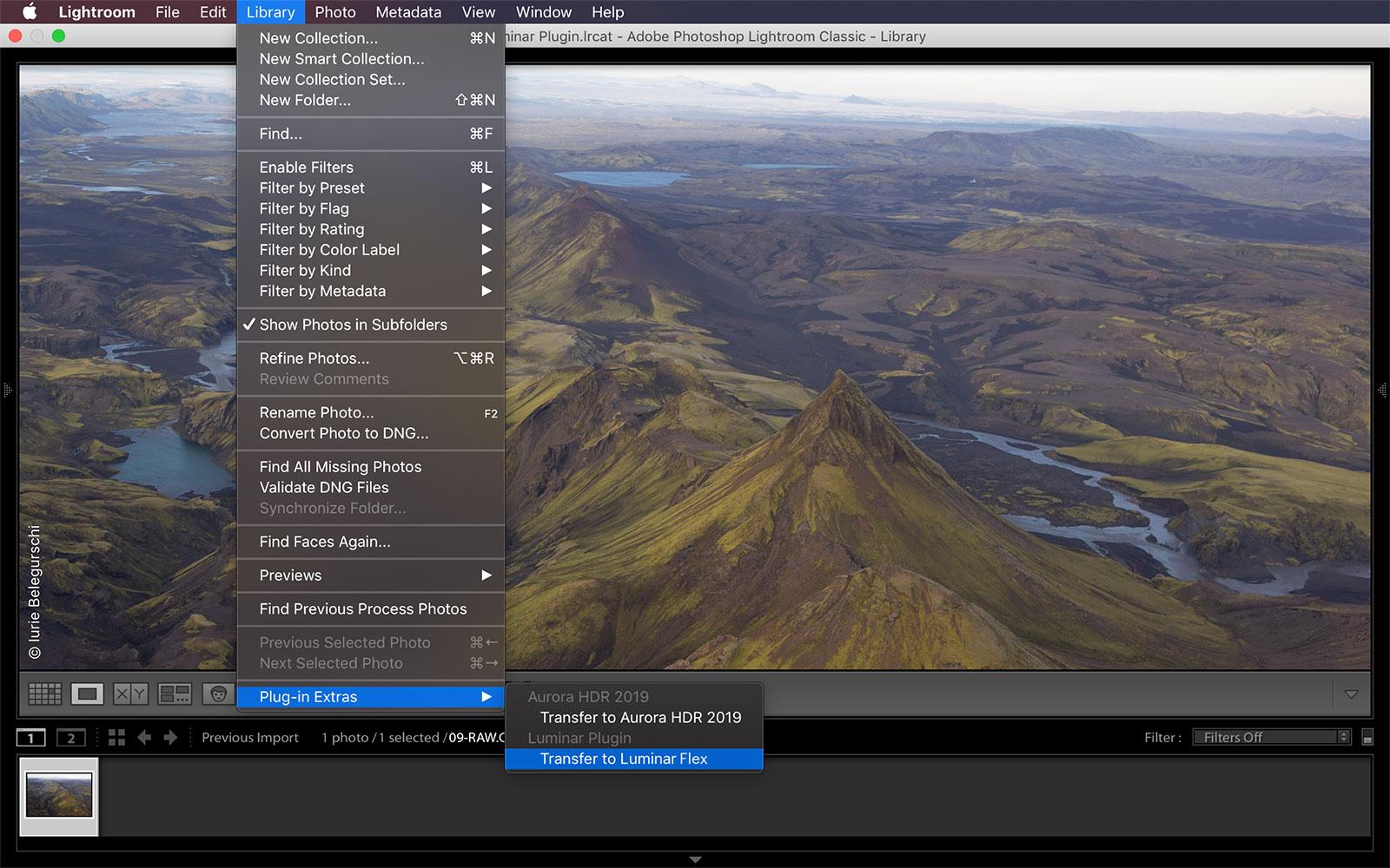 download luminar flex plugin