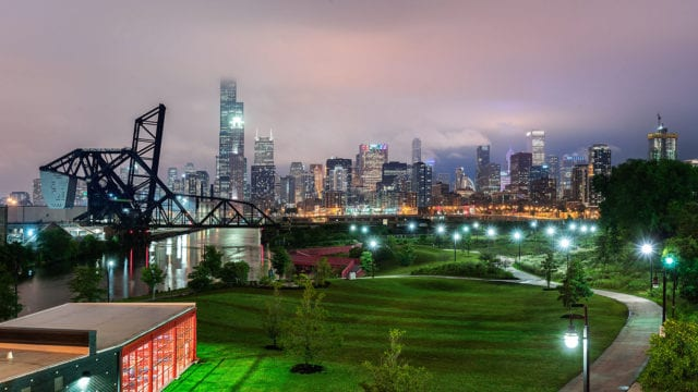 How to stitch cityscape panoramas with Lightroom Classic