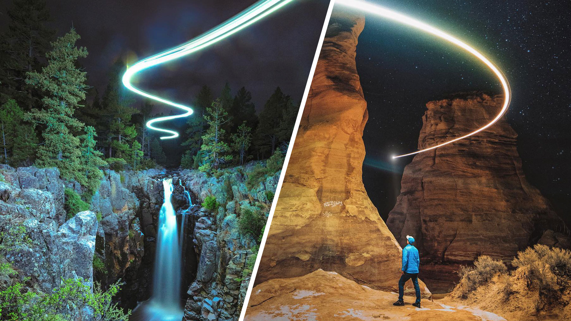 Light painting with your drone
