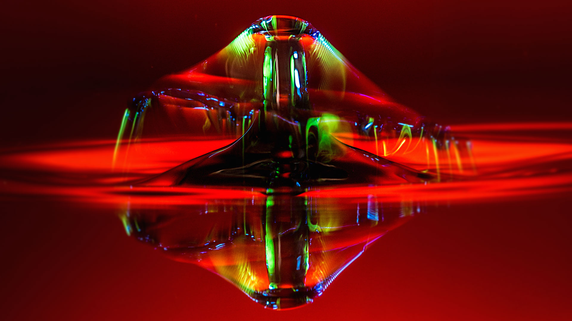 Water droplet image
