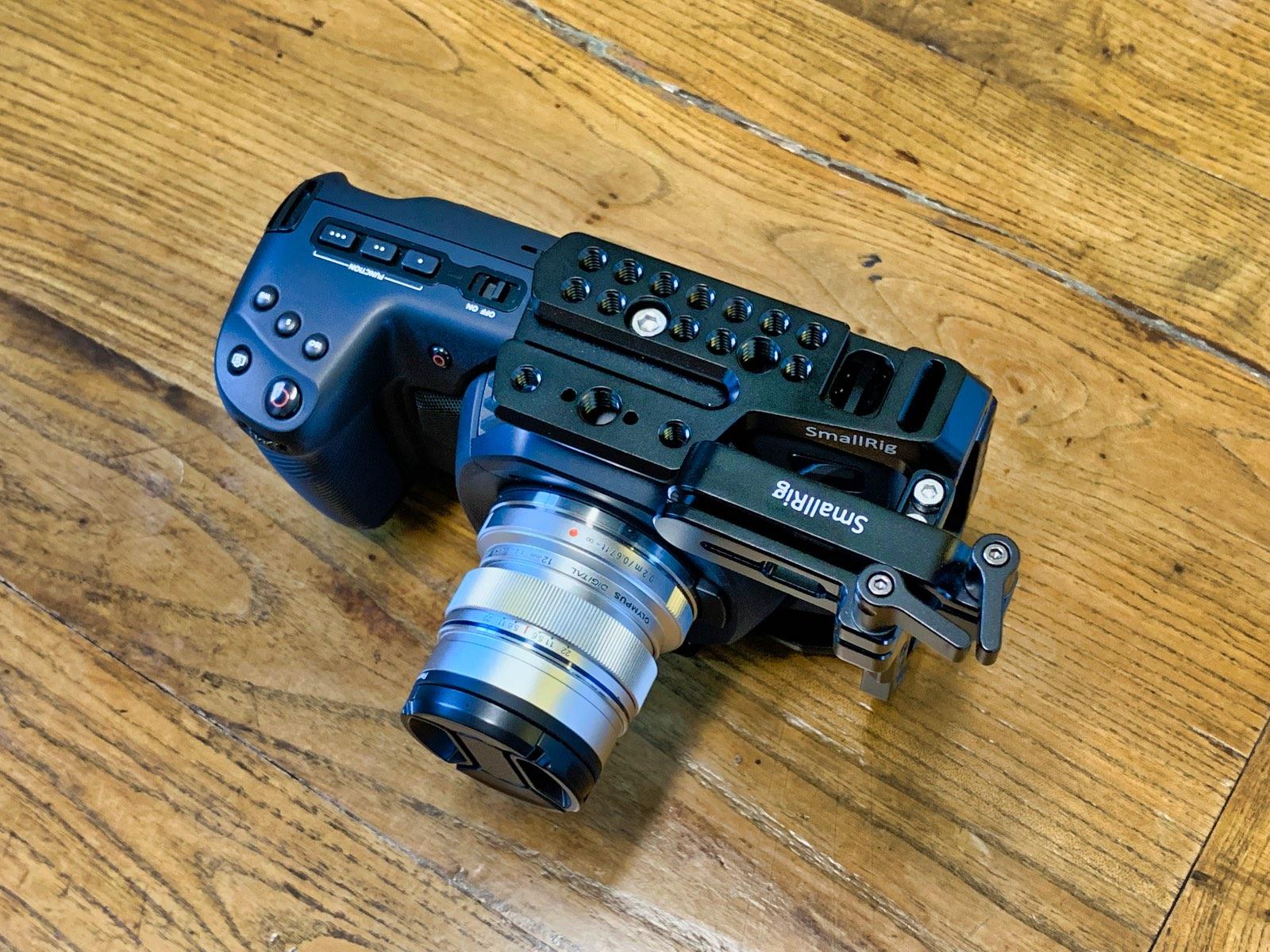 Caging the illusive Blackmagic Pocket Cinema Camera 4K | Photofocus