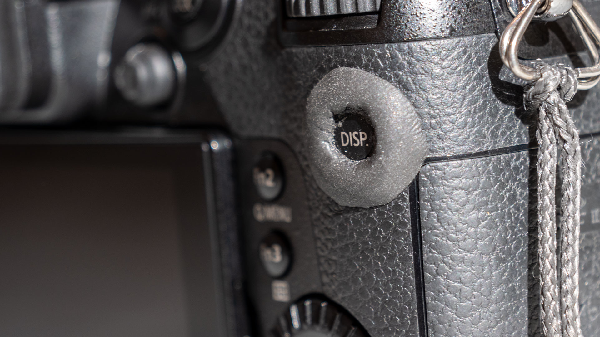 Sugru modification on my camera