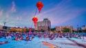 Enhancing event images taken at dusk