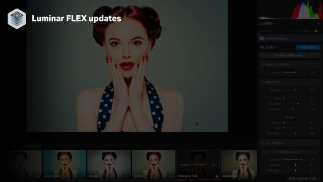 Skylum releases Luminar FLEX 1.1, with Accent AI upgrade