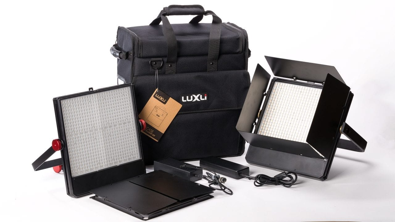 Luxli case for Timpani lights offers easy storage without the bulk
