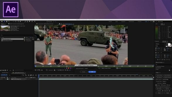 After Effects Tutorial - Stabilizing Shaky Footage