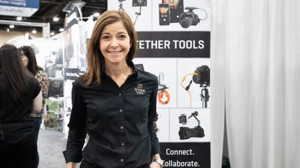 Lauren from Tether Tools at WPPI