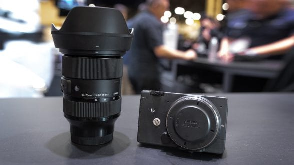 New Sigma fp camera and lens