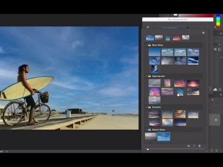 Photoshop Sneak Peek: Sky Replacement - youtube