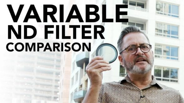 Variable ND Filter Comparison - youtube