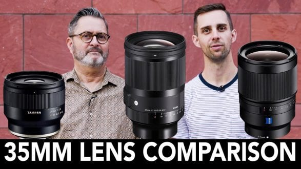 Which 35mm Lens is Better? Sigma, Sony and Tamron 35mm Lens Comparison - youtube
