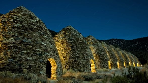 500px Photo ID: 241505653 - The Glow of the Wildrose (8841)  High up in the mountains above the parched sands of Death Valley are the Wildrose Charcoal Kilns, built in 1877. In these arid 8000 ft./2430m mountains, The ten charcoal kilns were built by the Modock Consolidated Mining Company. They were built to provide fuel for two lead/silver smelters––about 25 miles away. These 25-foot tall kilns were used only for a couple of years. And almost 150 years later, one can still smell the burnt charcoal. ~~~~~ I met up with my friend Lance Keimig (National Parks At Night) and a beautiful group of people in DVNP. We went out late nights to photograph the amazing sites. Lance lit the exterior of the kilns with a Luxli Viola LED panel, while Klaus-Peter Statz lit the interior of each kiln with another LED panel. Thanks, and feel free to share! ~~~~~ IG - instagram.com/kenleephotography FB - fb.com/kenleephotography Flickr - flickr.com/kenleephotography 500px - 500px.com/kenleephotography ~~~~~ Nikon D610/Nikkor 28-300mm f/2.8 lens @ 8 minutes f/10 ISO 100  ~~~~~ #kenlee  #kenleephotography #lightpainting #longexposure #nightphotography #slowshutter #amazing_longexpo #longexphunter #longexpoelite  #longexposure_shots  #supreme_nightshots  #ig_astrophotography #super_photolongexpo #‎long_exposure‬ #nightscaper  #nightphotography #deathvalley  #wildrosecharcoalkilns #vello #protomachines  #MyRRS #ReallyRightStuff #feisol #Nikon #NPAN #findyourpark #photographylife #photography #photopills #photographyislifee #photoshop #photographylover