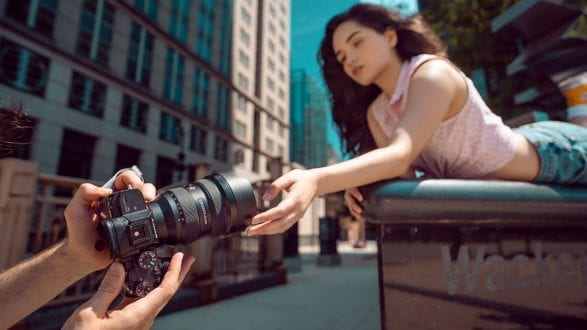 INSANE ultra wide Portraits with the Sony 12-24mm F2.8! - youtube