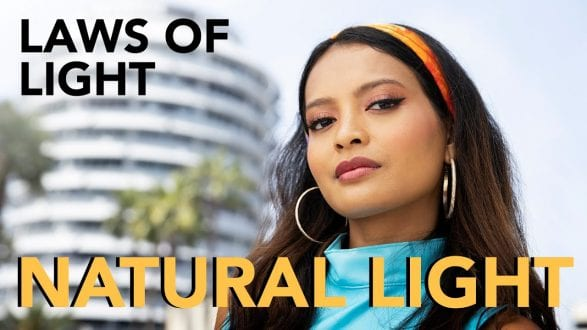Natural Light Portraits - How To Work With Direct Harsh Sunlight - youtube