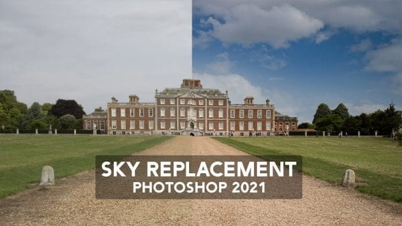Sky Replacement with Photoshop - youtube