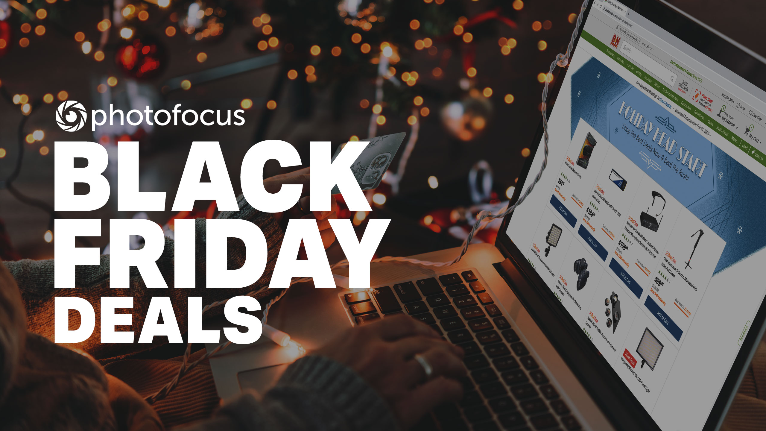 Save on camera accessories for Black Friday from B&H | Photofocus