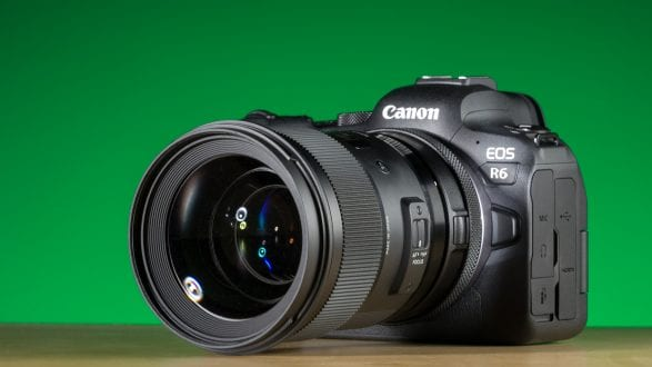 Canon's new mirrorless camera: The EOS R6