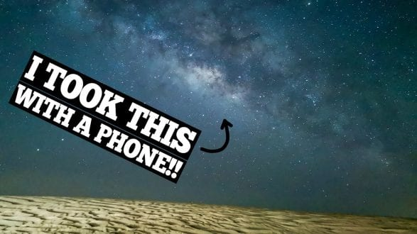 Photograph the STARS with a SMART PHONE! - and even the MILKYWAY! - youtube