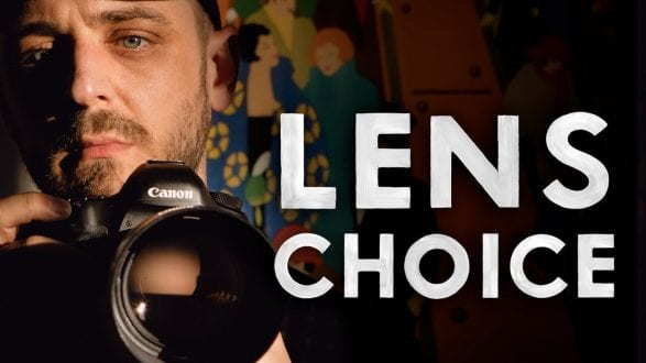 Choosing the RIGHT LENS — Why Focal Length MATTERS - youtube