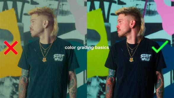 Color Grading MISTAKES Photographers Learning Video Make - youtube