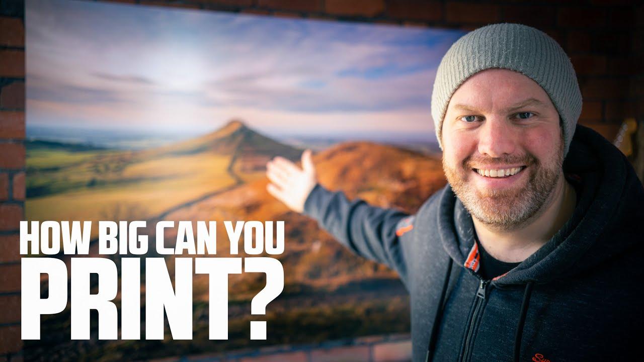 How BIG Can You PRINT Your Photos? (iPhone vs APS-C vs Medium Format) - youtube