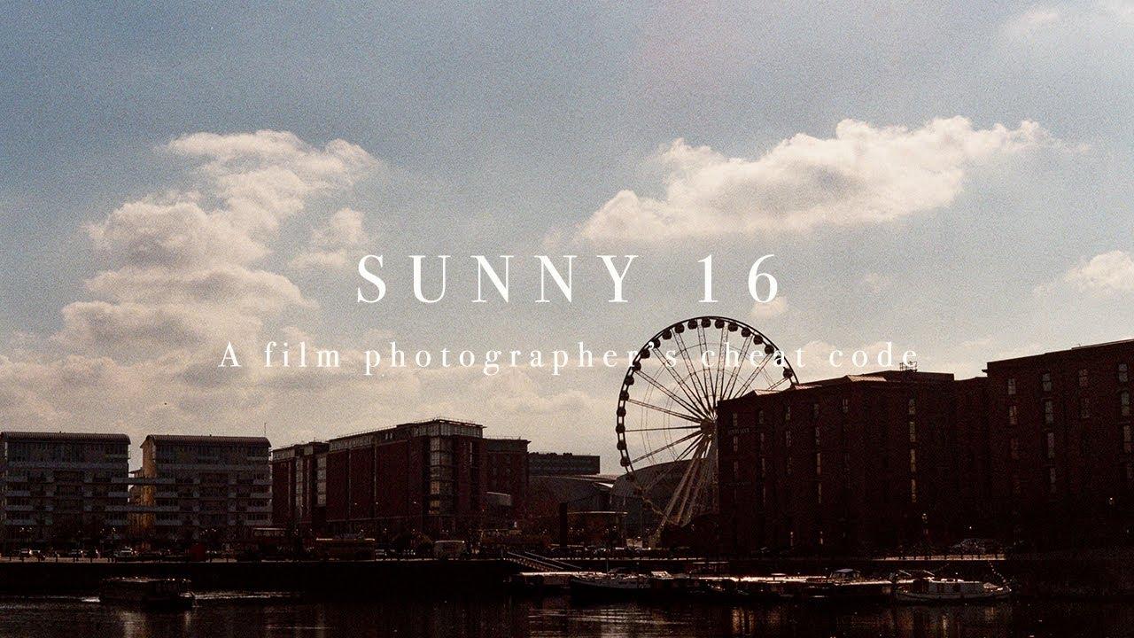 Sunny 16, a film photographer's cheat code. - youtube