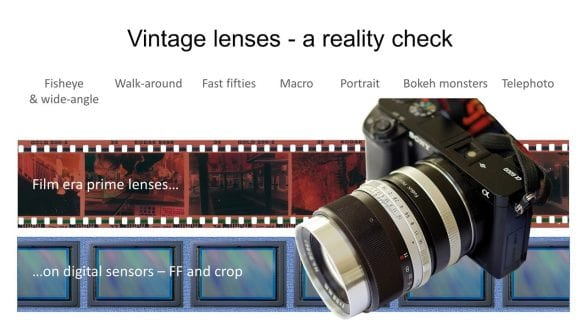 Vintage lenses on digital cameras. How good are they in reality compared to modern lenses? - youtube