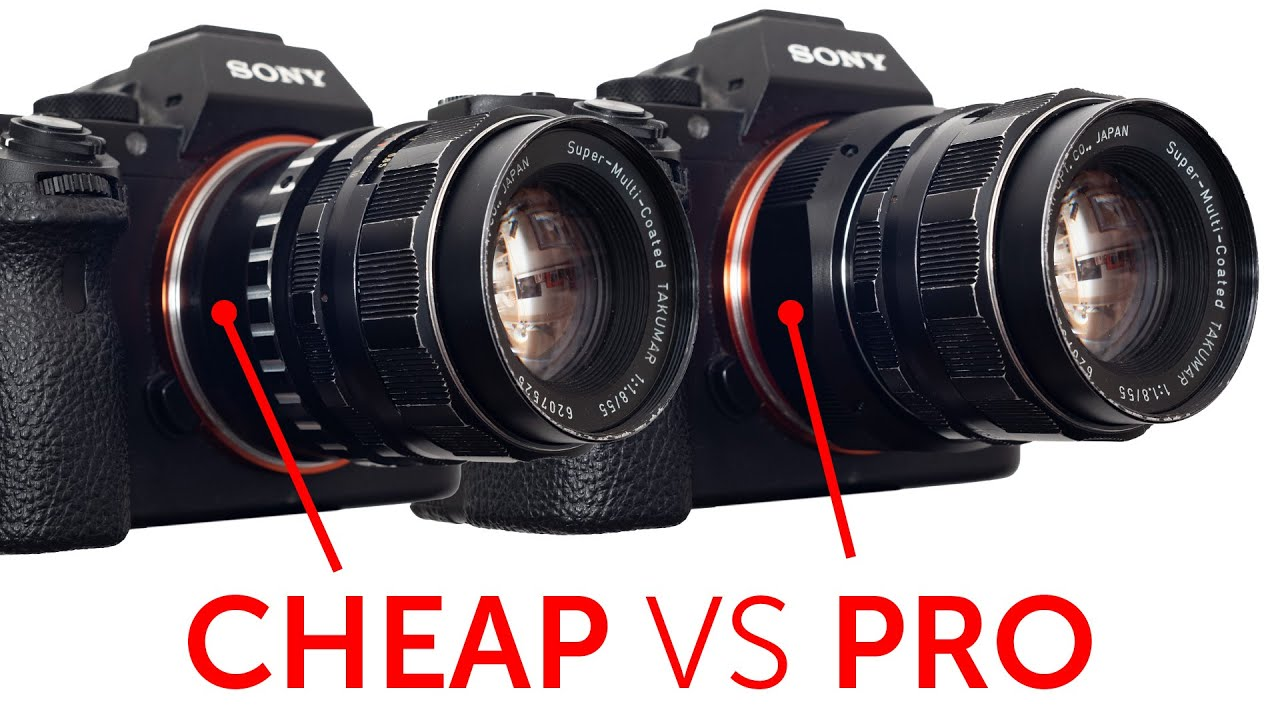 Can a Cheap Vintage Lens Adapter Damage your Camera ? (M42 vs M42) - youtube
