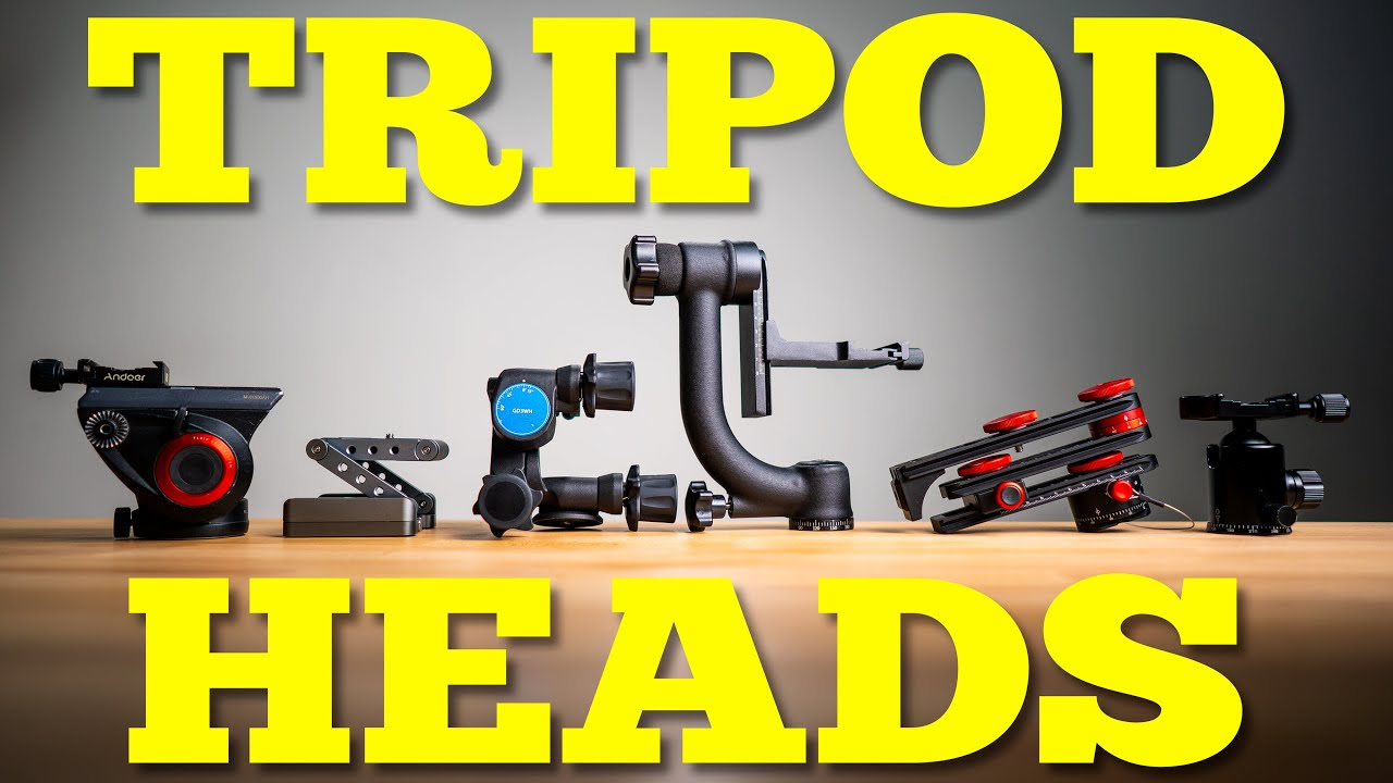 Every Type of Tripod Head Explained (almost) - youtube
