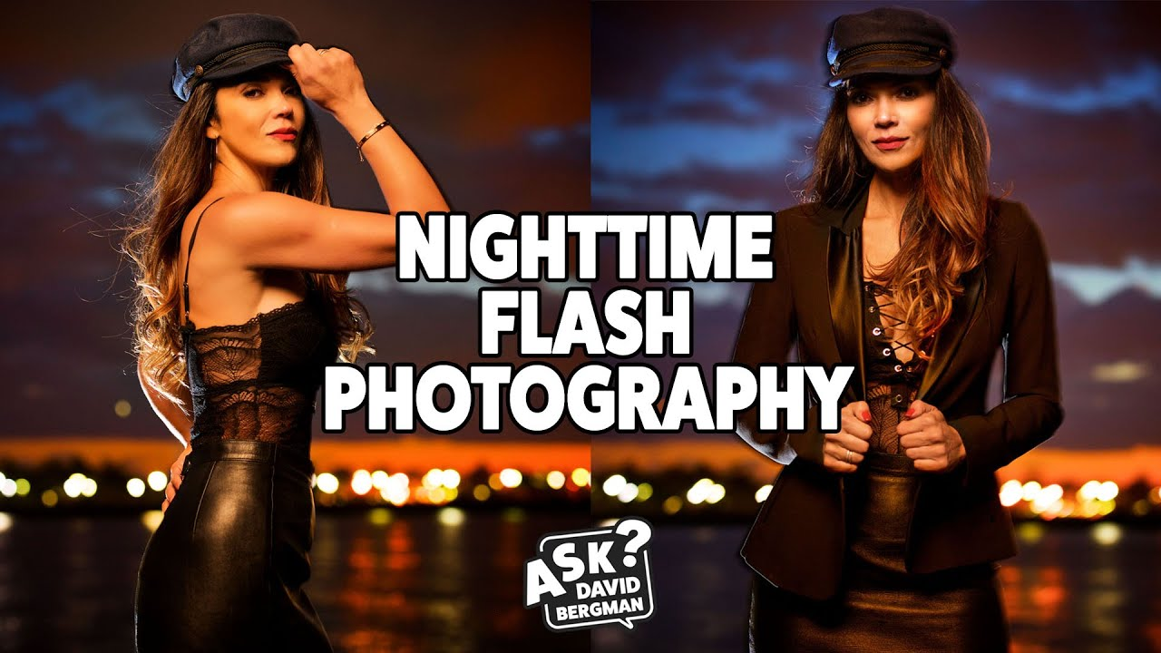 Flash Portraits at Night | Ask David Bergman - youtube