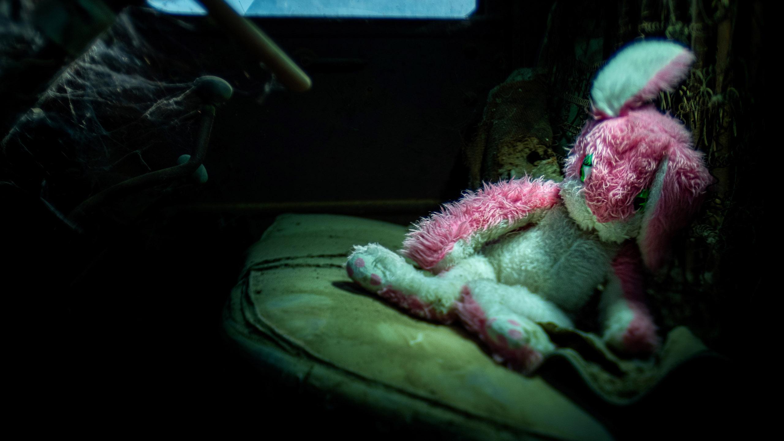 HEADER 2842_kenlee_eaglefield_201031_2007_75sfwhoknowsiso200_creepy-bunny-chevy-truck-interior-lensbaby_flat2-HEADER PHOTOFOCUS