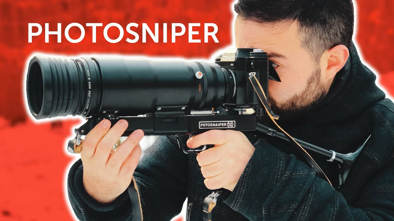 Shooting With A Weird Soviet Sniper Lens (complete kit review) - youtube