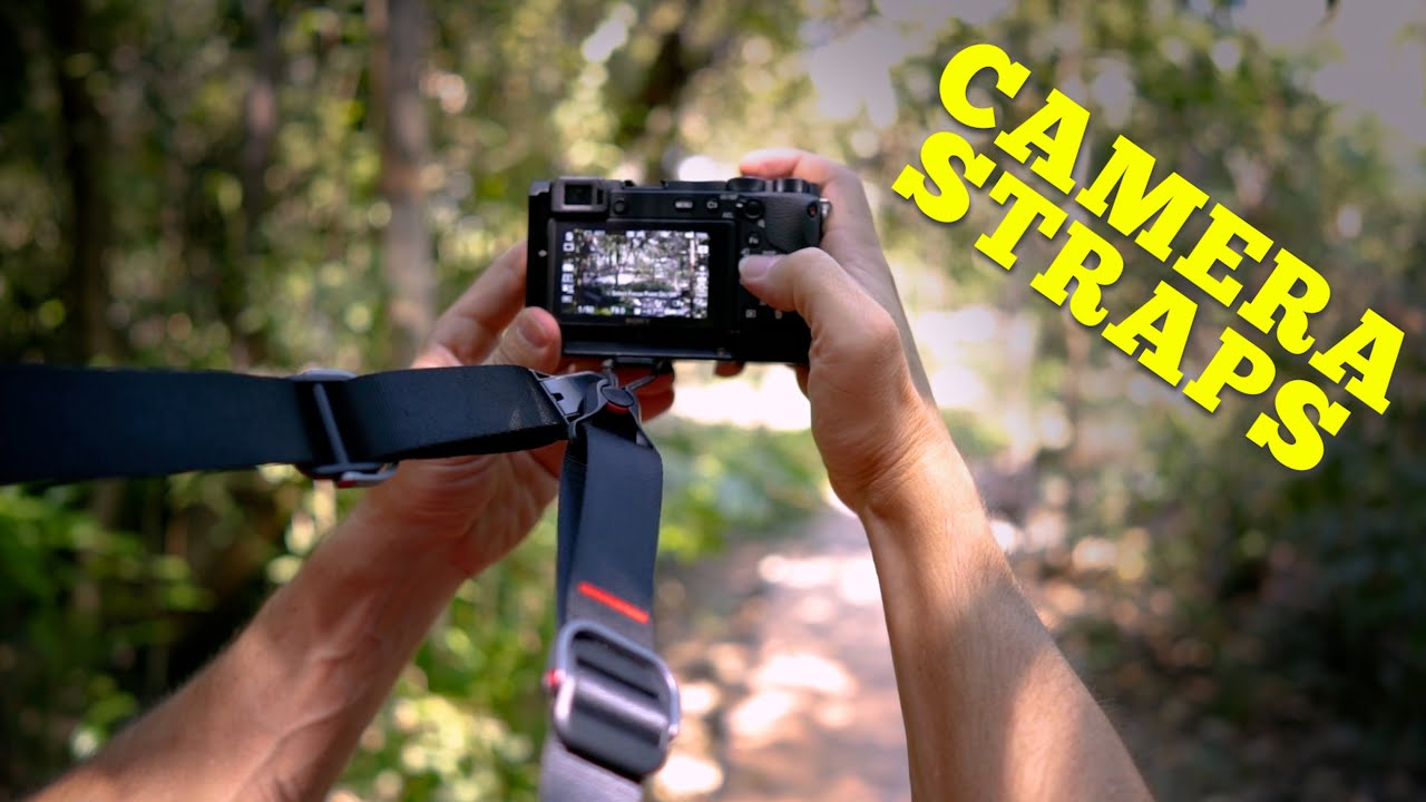 Which Camera Strap is best for you? | 4 different types! - youtube