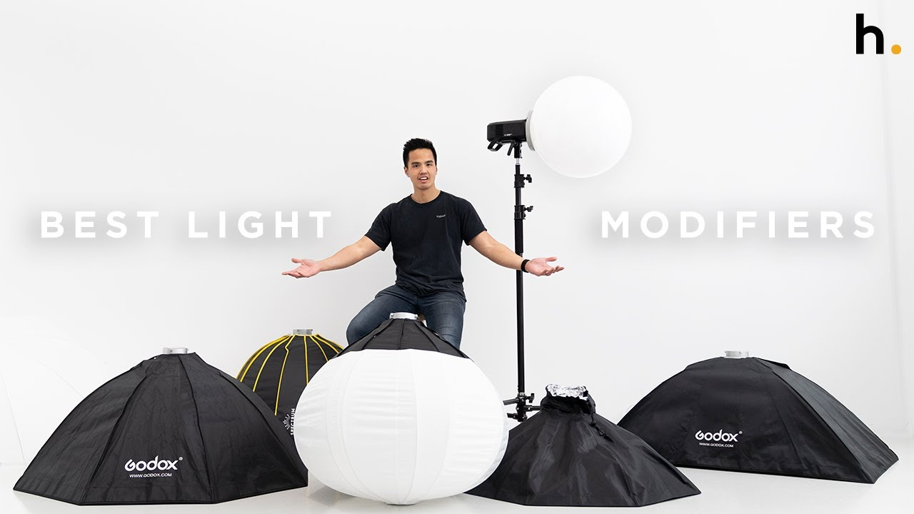 Which Softbox Works For You? | 8 Lighting Modifiers Explained | FIELD TEST - youtube